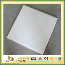 Crystal White Marble Tile for Flooring Decoration