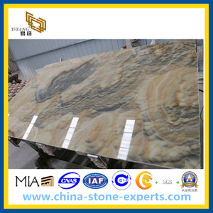 Yellow / White Honey Onyx for Tiles, Slabs, Mosaic (YYL)