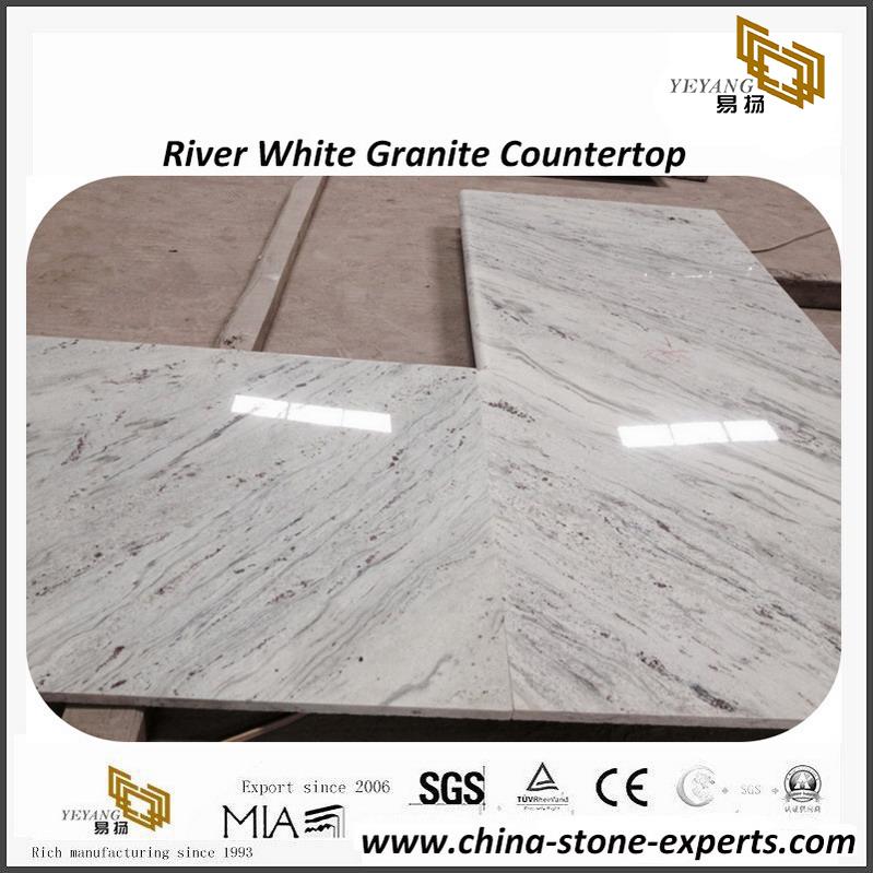 Hot Sale River White Granite Kitchen Countertops - Buy