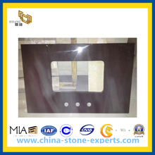 Artificial Quartz Stone Countertop for Kitchen, Bathroom (YQA-QC)