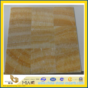 Yellow Honey Onyx Marble for Tiles, Mosaic, Slabs, Sinks (YYAZ)