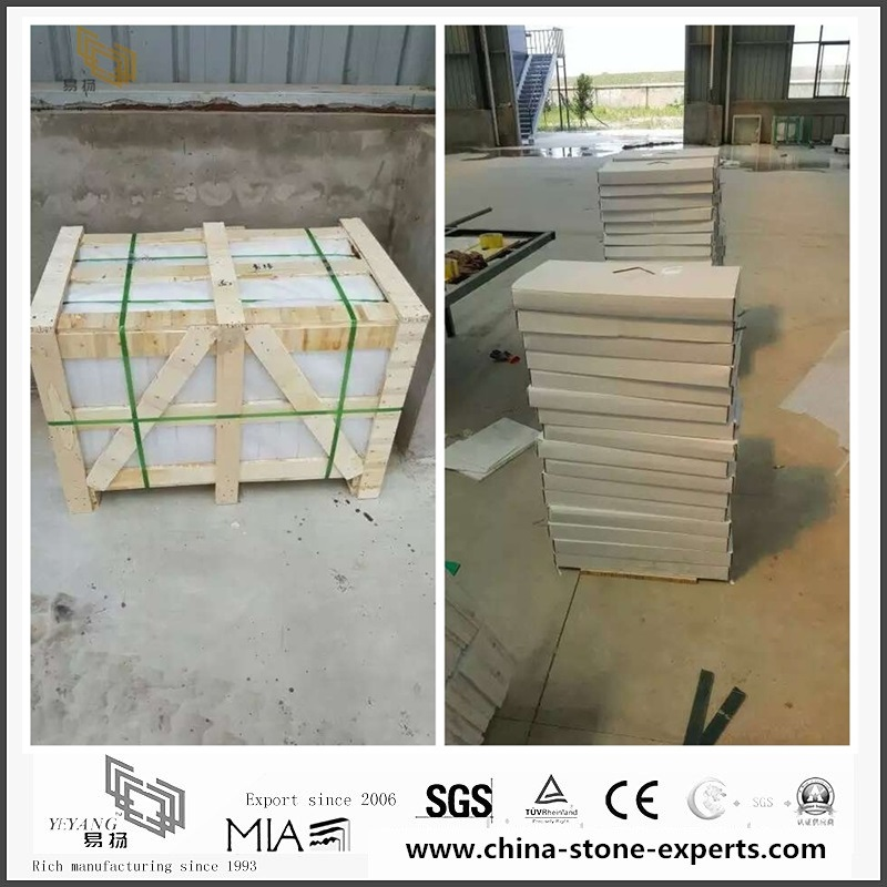 Quality High Polished Victoria Falls Marble Slabs for Bathroom Vanity tops (YQW-MS080203)