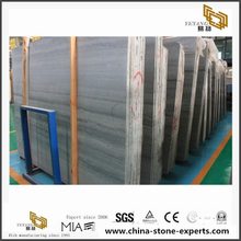 China Popular Wooden Blue Veins Marble Slabs & Tiles