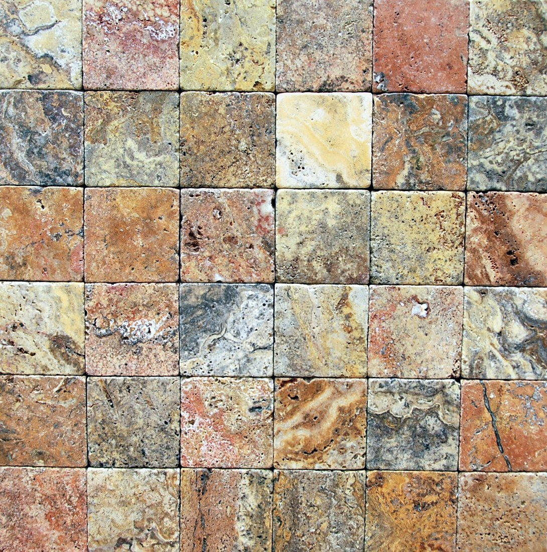 What does it mean when a tile is Tumbled Tiles ?
