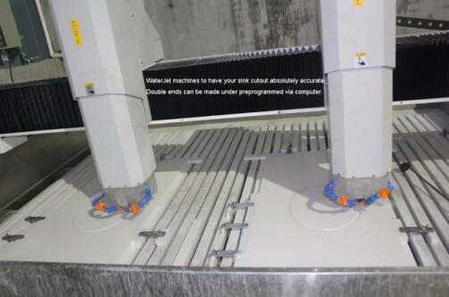 Automatic Carving Machines to to make the accurate sink cutout .