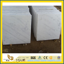 Polished Guangxi White Marble Tiles for Flooring