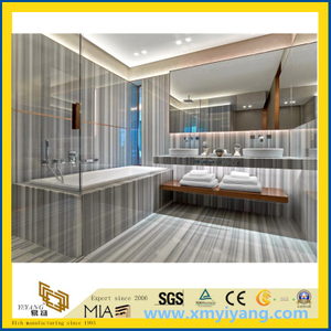 Marmara White Marble Tile for Interior Decoration (YYT)