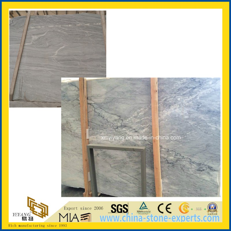 Natural Polished/Harmmer/Antique Egeo Marina Grey Stone Marble for Countertop/Paving/Wall/Floor