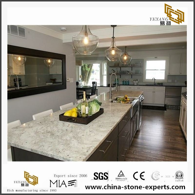 Hot Sale Colonial White Granite Slabs Tiles For Countertop