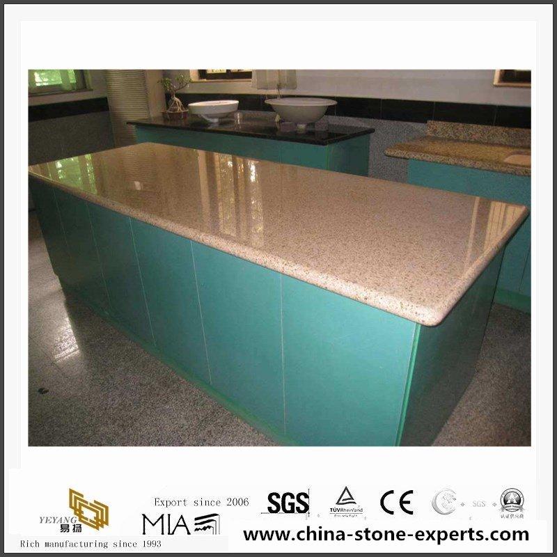 Cheap China G682 Yellow Granite Kitchen Countertop, Vanity Tops4