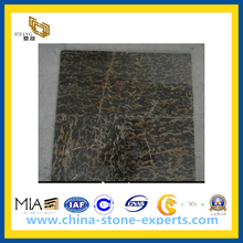 Portoro Brown Marble Tile for Flooring(YQC)