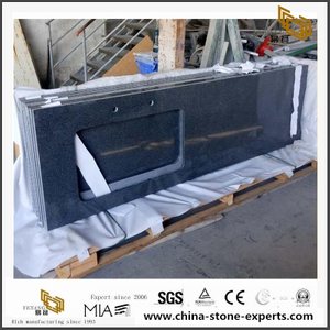G654 Padang Black Granite Countertops for Kitchen