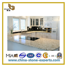 Spray White Granite Kitchen Countertop for Bathroom and Island(YQC-GC1030)