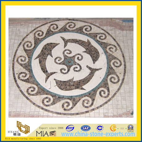 Marble Mosaic / Mosaic Medallion for Floor Decoration (YQZ-M)