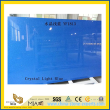 Crystal Light Blue Quartz Stone for Indoor Decoration