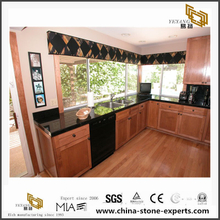 Good Price Black Galaxy Granite Countertop for Kitchen and Bathroom