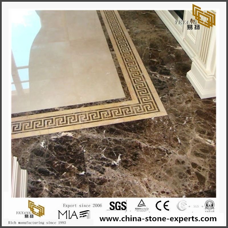 China Dark Emperador Marble Slabs & Tiles with Cheap Price