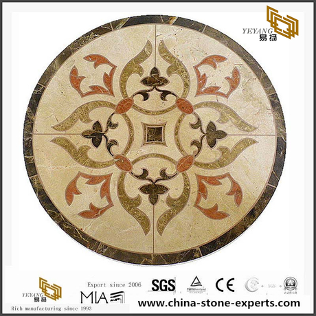 Affordable Marble Medallion WaterJet Technology In Lower Price