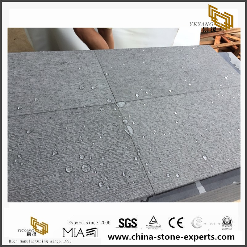 Hainan Black Basalt Projects for Outdoor Landscaping Decor