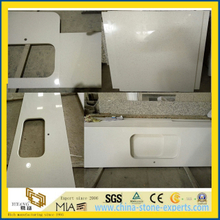 White Quartz Countertop for Kitchen (yys-003)