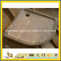 Tiger Skin Yellow Granite Shower Tray for Bathroom Decoration
