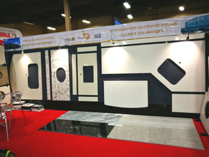 Stonexpo 2017 Booth #3371- Quartz Kitchen Countertops from Yeyang Stone Group