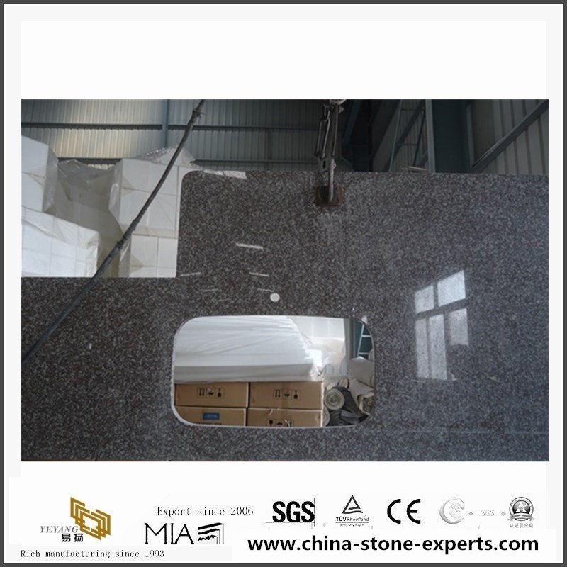 China G664 Misty Brown Granite Counter Tops With cheap Price3