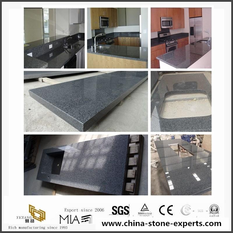 G654 Padang Black Granite Countertops