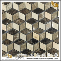3D New Design Marble Stone Mosaic Tiels Discount