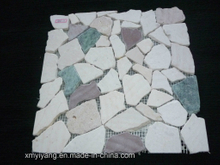 Culture Stone Colorful Mat Mosaic Tile