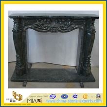 Natural Indoor Hand Carved Stone Granite Fireplace(YQC)