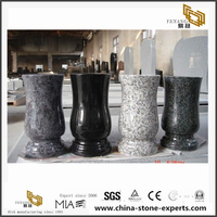 Cheap Customize Granite Memorial Vases for Graves