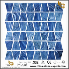Trapezoid Model New Design Glass Mosaic Fast Sale Online Colorful