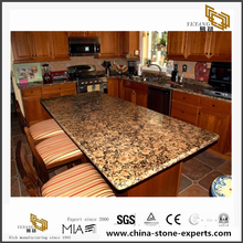 China Natural Giallo Fiorito Granite Countertops & Vanity Tops
