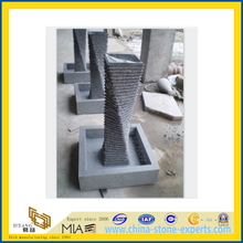 Grey Granite Carving Water Feature Fountain(YQG-LS1025)
