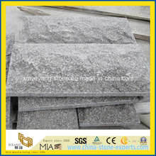 G664 Bainbrook Brown Granite Mushroom Walling Stone