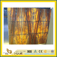 SGS China Cheap Price Yellow Onyx Slab for Walling, Flooring (YQW-OS1003)