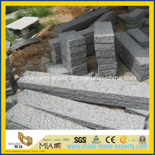 G654 Grey Granite Stone Fence Post for Garden or Patio