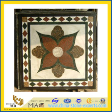 Honed Marble Onyx Medallion for Indoor Decoration