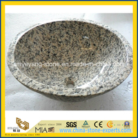Tiger Skin Granite Lavabo for Bathoom Decoration