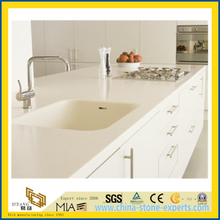 White Quartz Countertop for Kitchen, Vanity Top(YQW-QC100641)