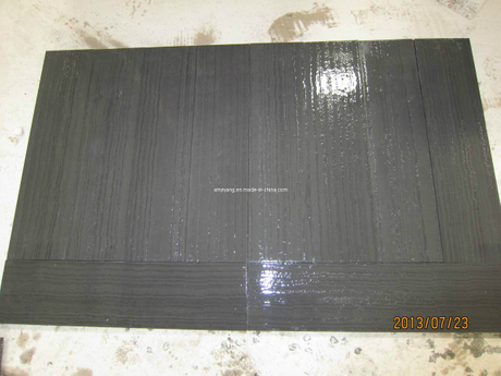 Serpeggiante Black Wood Vein Grain Marble Tiles