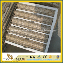 G682 Rusty Yellow Granite Stone Border Line for Outdoor Decoration