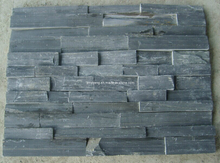 Slate Tile, Cultured Stone, Black Slate for Wall