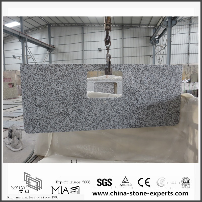 Best Luna Pearl White Granite Countertops for Kitchen/Bathroom (YQW-GC0524025)