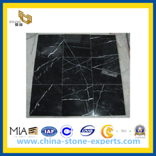 Marble Stone Black Marquina for Flooring, Wall and Vanity(YQC)