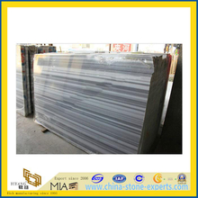 Wood Vein Grey Marble Slab for Flooring Decoration