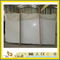 Polished Chinese Crystal White Marble Slab for Countertop/Vanity Top