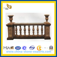 Customize Granite Stone Baluster Railing for Outdoor Garden