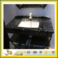 Black marquina bathroom vanity top (YQA-MC1010)